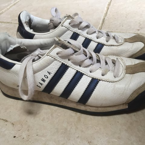 Original adidas Samoa. Rare vintage trainers size 5. Well in - Depop 8260a4b4a