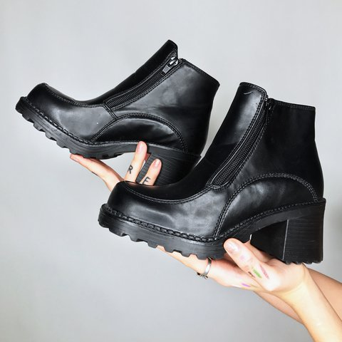 bad015d08f8 Incredible Little Platform Booties ♥ In Like New
