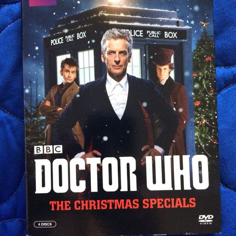 Dr Who Christmas Specials.Listed On Depop By Littlemisswitchbitch