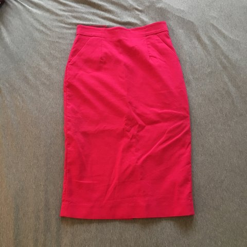 510bd2d83 @aliruby. 2 years ago. London, UK. Gorge Whistles pencil skirt - fully lined  - hot pink ...