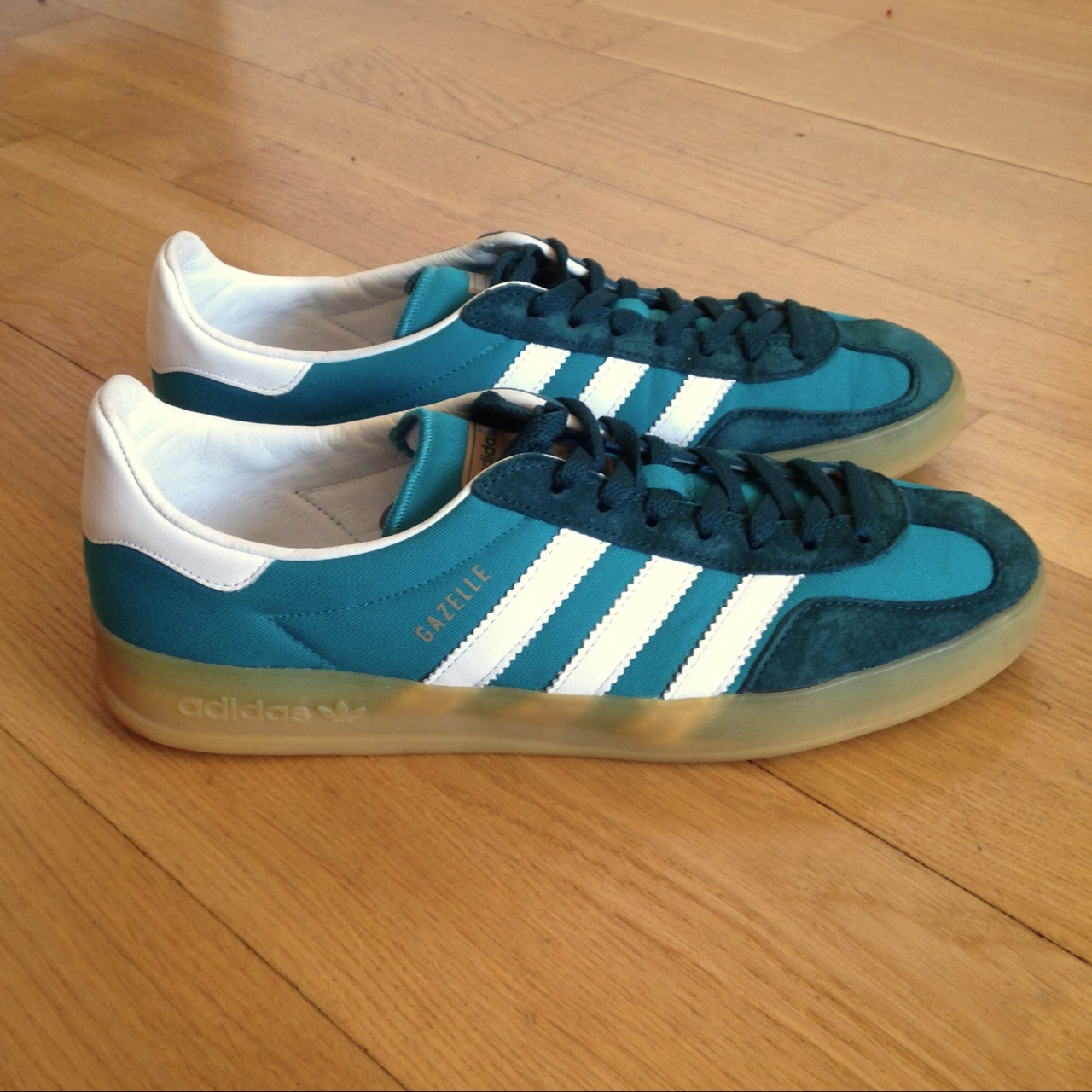 Adidas Originals Gazelle Indoor Soccer Shoes | Deep Depop