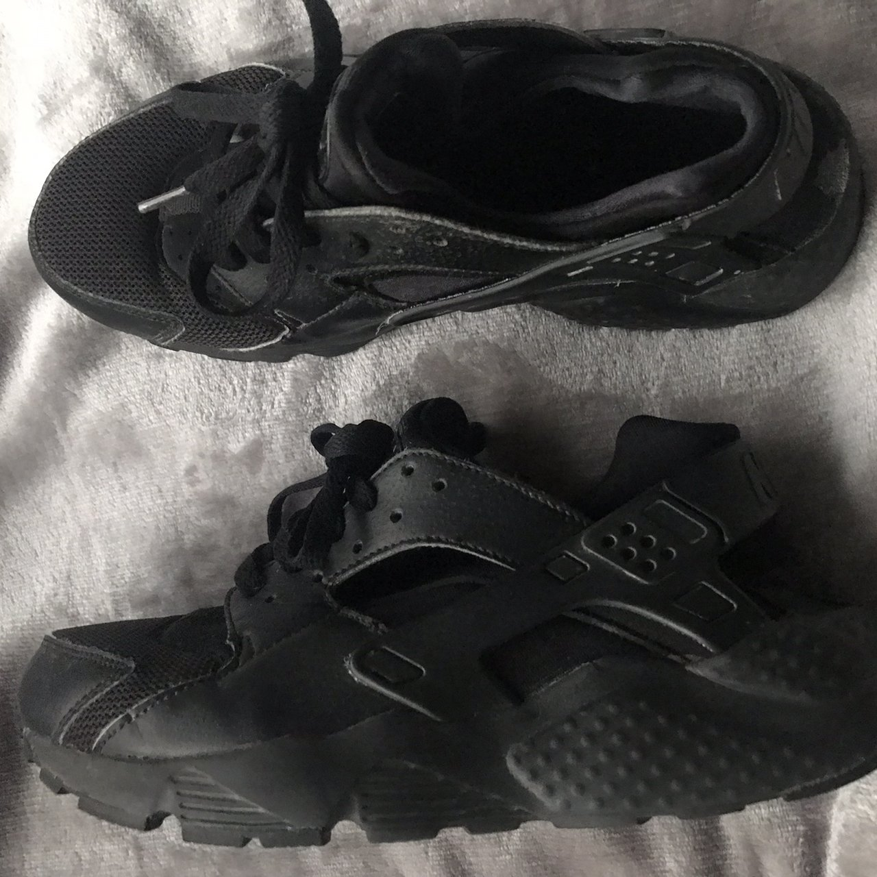 75783ce12d4e Nike Air Huarache triple black in a size 6