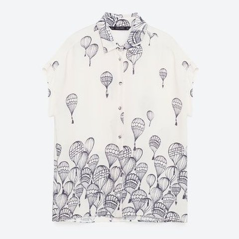 e433d5f424a47e @pearsonlucy. 3 months ago. Belper, United Kingdom. Zara hot air balloon  blouse