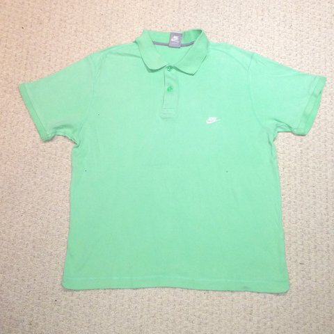 d2d54009 @vintage_garms_uk. 2 months ago. Beddau, United Kingdom. Men's Green Nike  Polo Shirt Size XL Extra large. Great condition