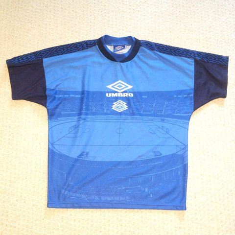 Men S Vintage Umbro Pro Training T Shirt Size M Medium To Depop