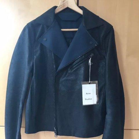 Acne Studios Gibson Biker Perfecto Jacket in a beautiful new - Depop 4a8cd0e25f5