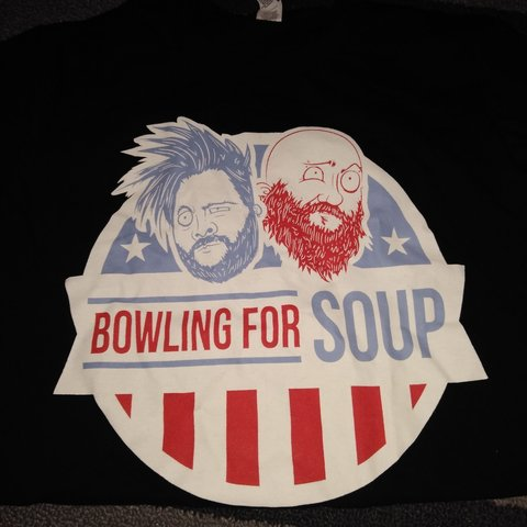 c182e5a2c Bowling for soup election shirt. Bought from warped tour and - Depop