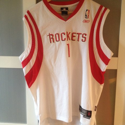 17000916244 Vintage NBA jersey   Houston Rockets   Tracy McGrady (1)     - Depop