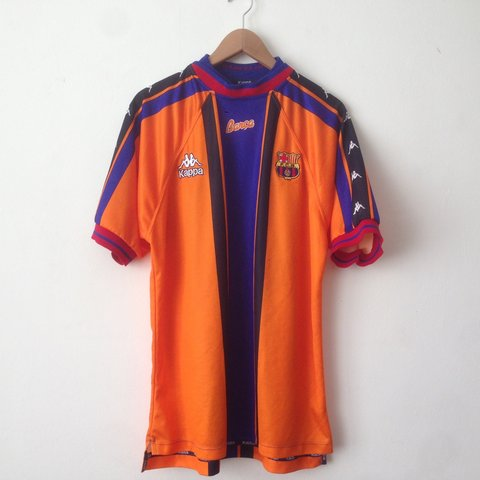 b4de532a7  lovedfootballshirts. 3 years ago. FC Barcelona away shirt (1997 98)   Kappa  ...