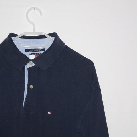 da482268 @garmgalore. 4 years ago. London, UK. Vintage Tommy Hilfiger polo shirt size  XL but would fit ...