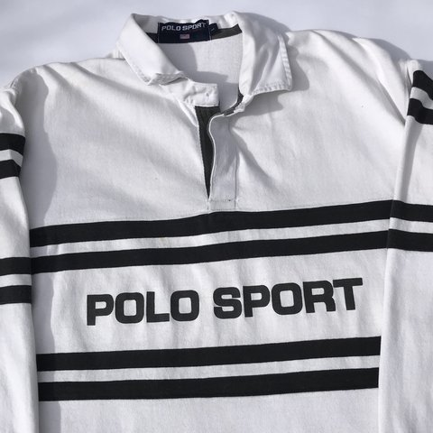 966c852e @garmgalore. last year. London, United Kingdom. 📸 Vintage Polo Sport Ralph  Lauren Rugby Shirt Top.