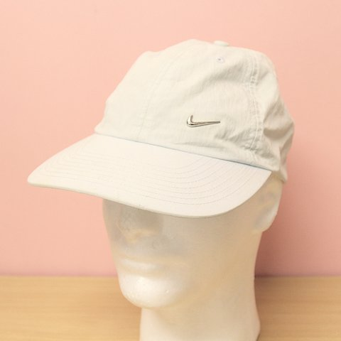 d932ded5102 Vintage Light Blue Nike Cap. This item is in GRADE B This a - Depop