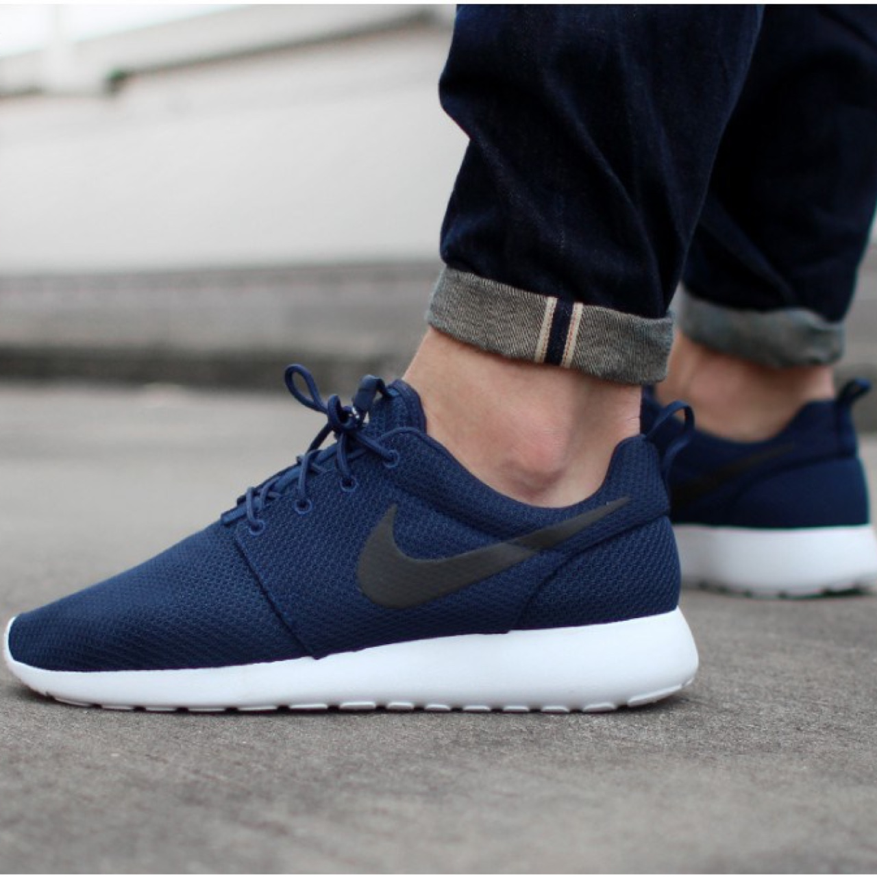 huge discount bfaaa 96020 NIKE Roshe Runs, Mens navy roshe runs pretty much... - Depop