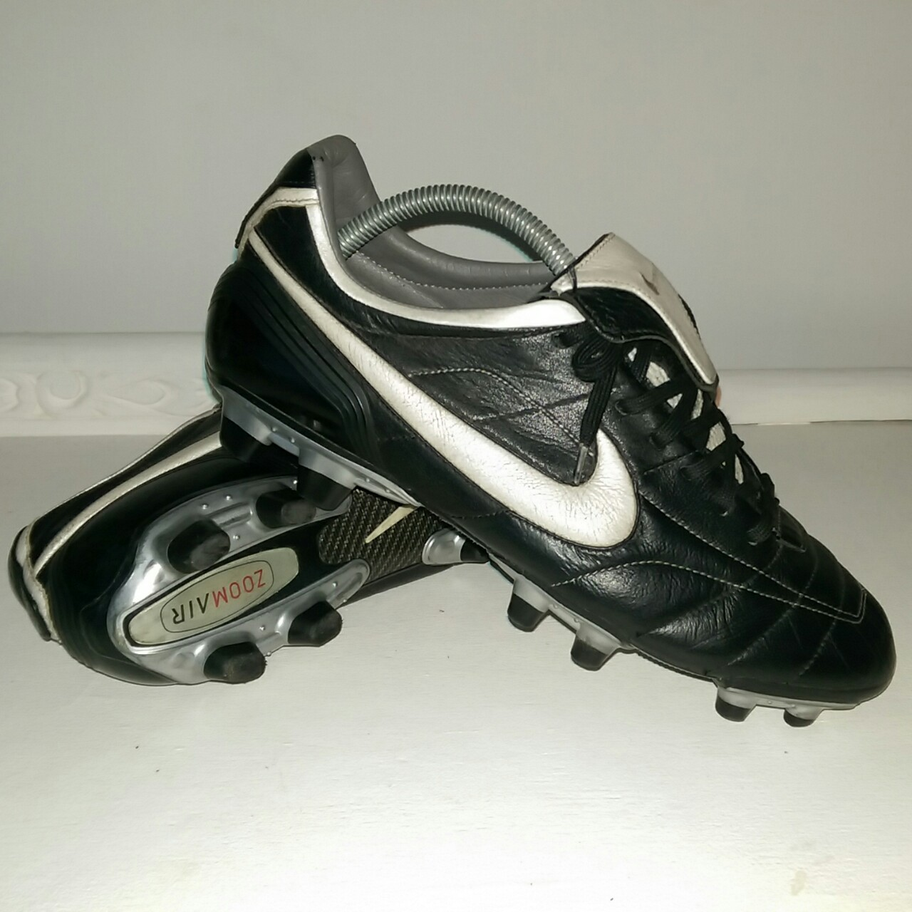 the latest 82293 9bcb6 Nike Tiempo Legend Zoom Air Football boots Worn... - Depop