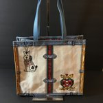 4de1dd14d495 You can have your own Birkin bag! Printed canvas with a A - Depop