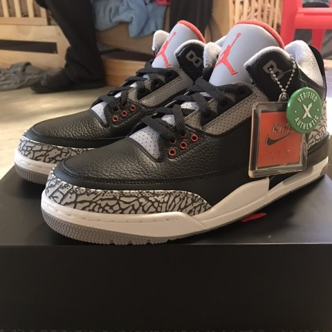 d569ee4206f @itsfvckndk. 2 months ago. Vallejo, United States. Air Jordan Retro 3 Og '  Cements ' 2018 DS‼ Sz. 10.5 bought from stockX