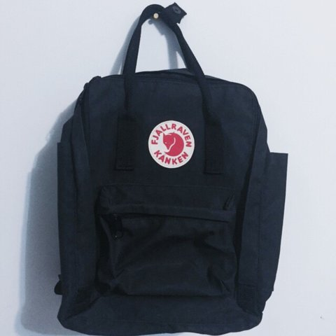 e66aa4ef8 @sairda. 3 years ago. Richmond, BC, Canada. Fjallraven Kanken backpack in  black (13