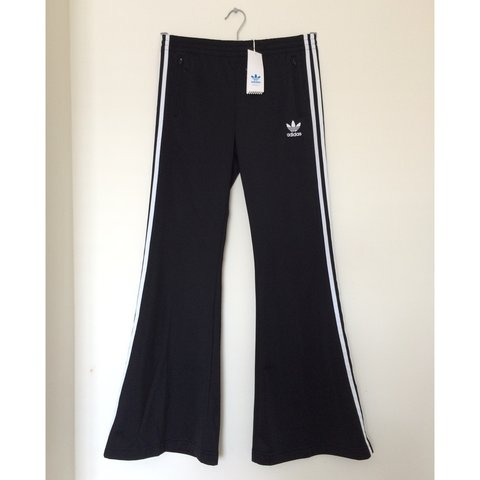 adidas flared track pants