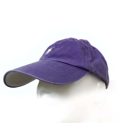 9c9eedf01c199  emporiumsupply. 2 days ago. United Kingdom. Vintage Polo Ralph Lauren  Purple Hat Cap ...