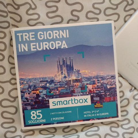 Smartbox tre giorni in europa #smartbox #europe #italy - Depop