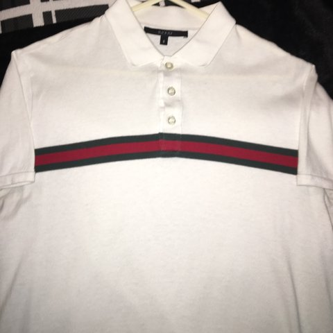 ffea6e74b15 For sale! genuine gucci polo size small (comes up quite worn - Depop