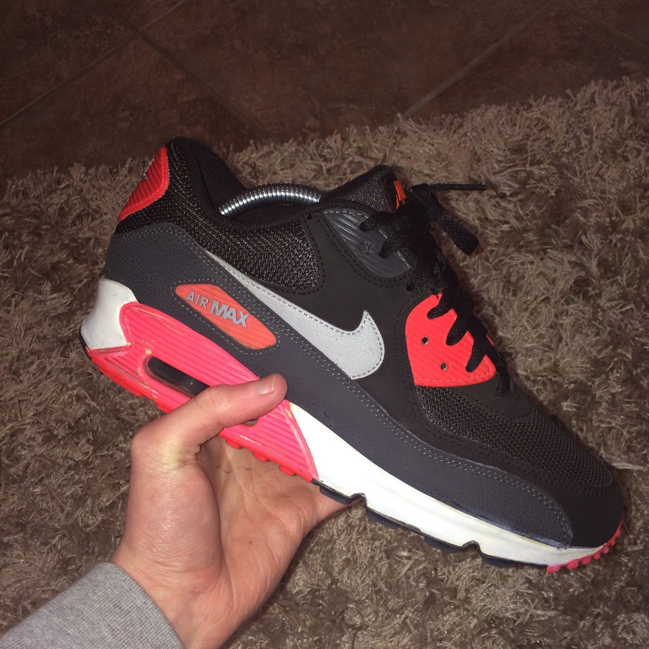 Nike Air Max 90 Ultra 2.0 Flyknit (Rouge) Baskets chez