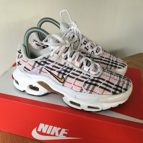 finest selection 0e1f2 a5b07 ... Nike air max plus tn burberry 810 - Depop ...