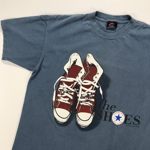 12627068ce7f Vintage 1994 Converse All Star shirt - in great condition! - - Depop