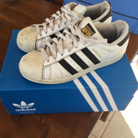 Adidas superstar usate numero 41 1/3 a soli