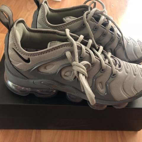 5fe0280473a82 SOLD OUT SIZE Unisex Nike Air VaporMax Plus Trainers Size   - Depop