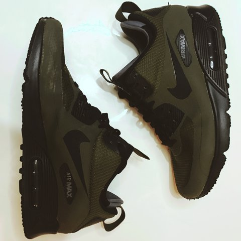 d98bc5980596 Nike Air Max 90 Utility thermal lining. SIZE  7. COLOUR  a - Depop
