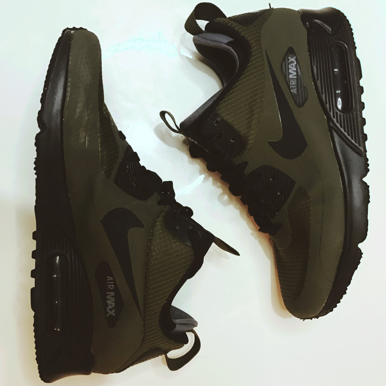 Nike Air Max 90 Utility thermal lining. SIZE  7. COLOUR  a - Depop f55dee8fea5e