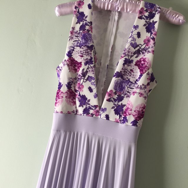 Pretty little thing Lucy meck lilac floral Depop