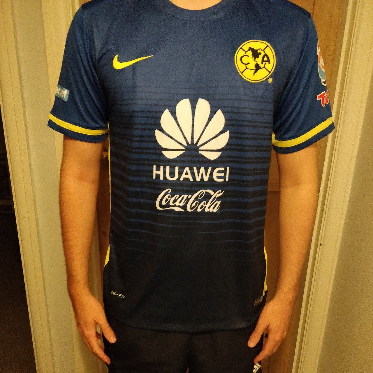 f03a47212 Club America 2015 16 away football shirt Size Medium a great - Depop