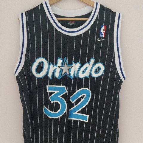 403174730ed Retro Nike Orlando Magic Basketball Jersey Shaquille O Neal - Depop