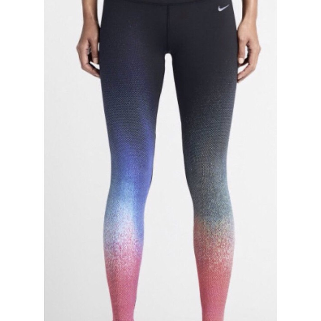 ffab4bbd044dd Nike ombré rainbow leggings. Size small. Worn once just from - Depop