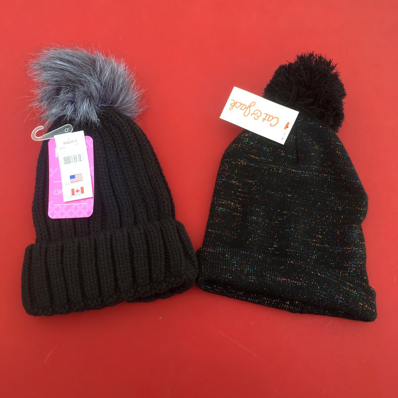 Two awesome beanies New With Tags!!!  20 shipped for both. - Depop b212cf7d6