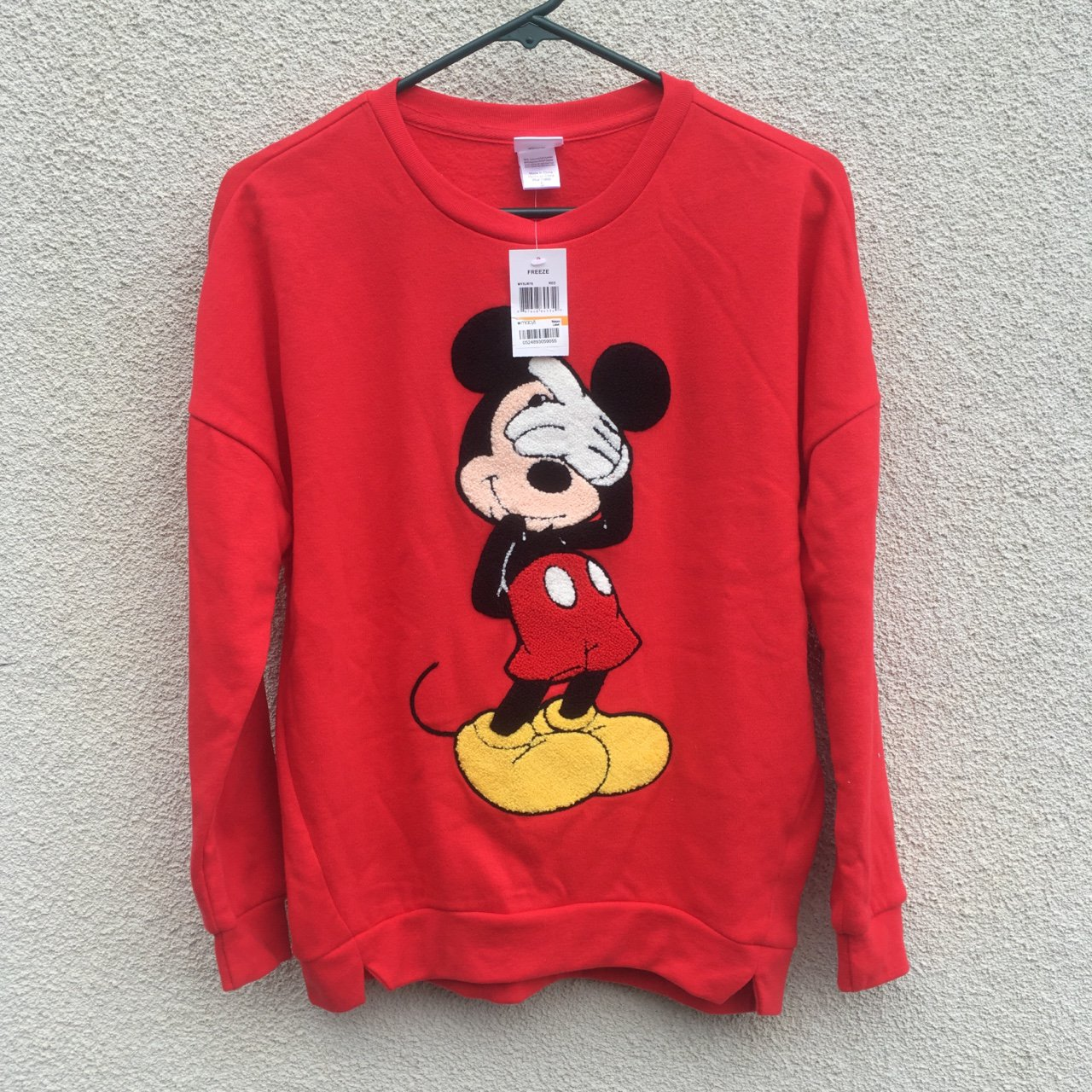 9608915b6 Red Mickey Mouse sweater! New With Tags from Macy's. Unisex - Depop