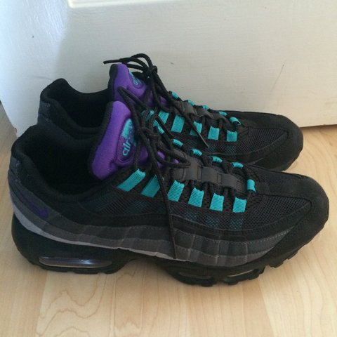 separation shoes 3f1ee 0b676  mitchken1. 4 years ago. Featherstone, United Kingdom. Nike air max 95 black  ...