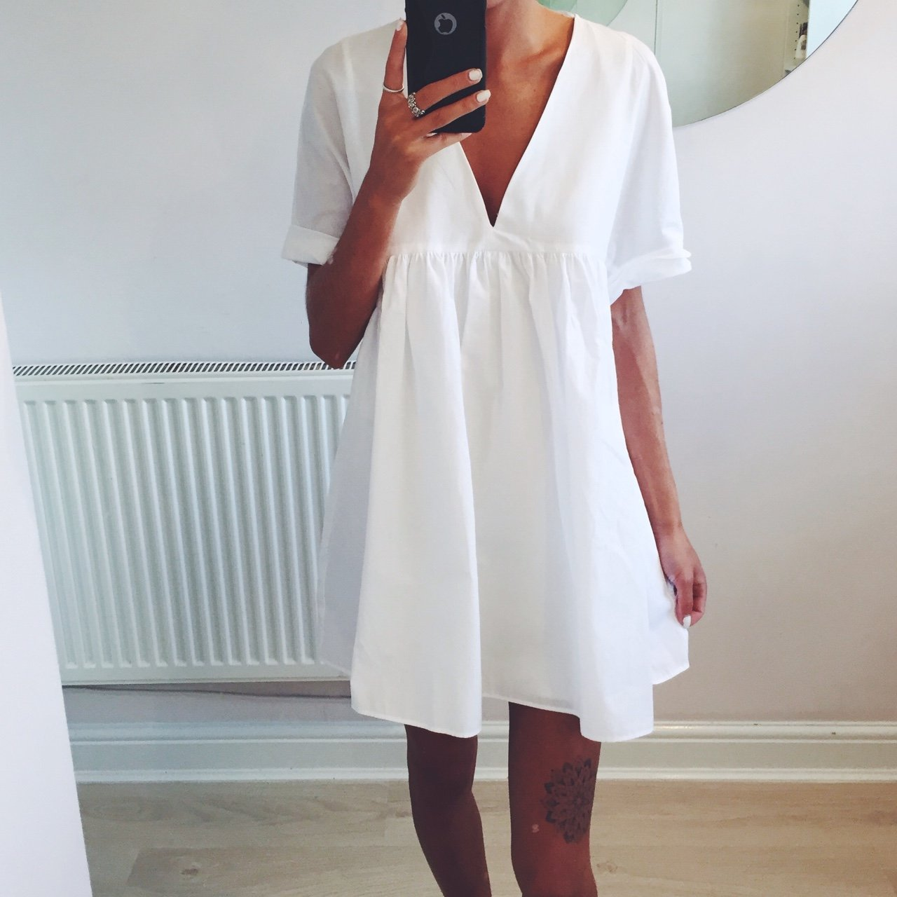 5cb9cd93e38 Brand new with tags Zara SOLD OUT White Playsuit    Size - Depop