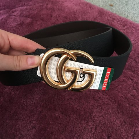 4f29aef4ada Fake Gucci belt, never worn selling for 15£! Open to offers, - Depop