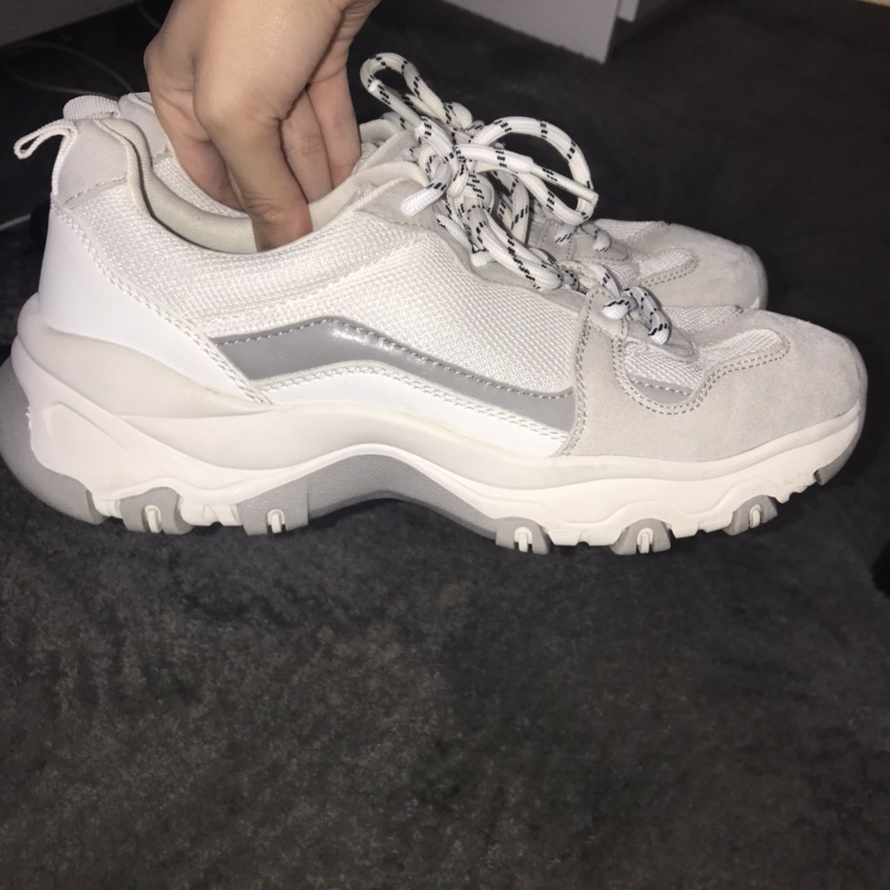 chunky trainers size 4
