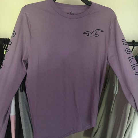 7a1af730 @sethwain. last year. Devizes, United Kingdom. Purple hollister long sleeve t  shirt