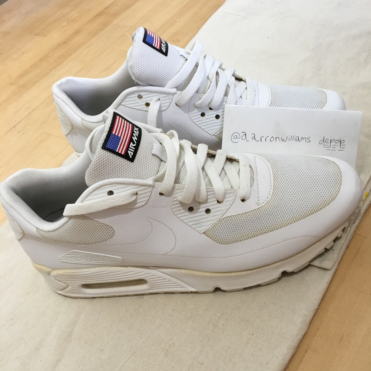 énorme réduction b6c9a 8adc9 NIKE AIR MAX 90 HYPERFUSE USA INDEPENDENCE DAY ...