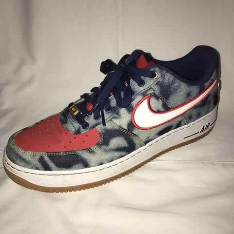 sports shoes 95bc8 c4976  chloeeolhc. last year. England, UK. Men s Boys Nike Trainers Air Force 1  Low Acid Wash Denim.