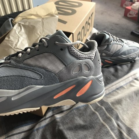 333d8a093d6b6 Yeezy boost 700 inertia - in hand. Made by adidas