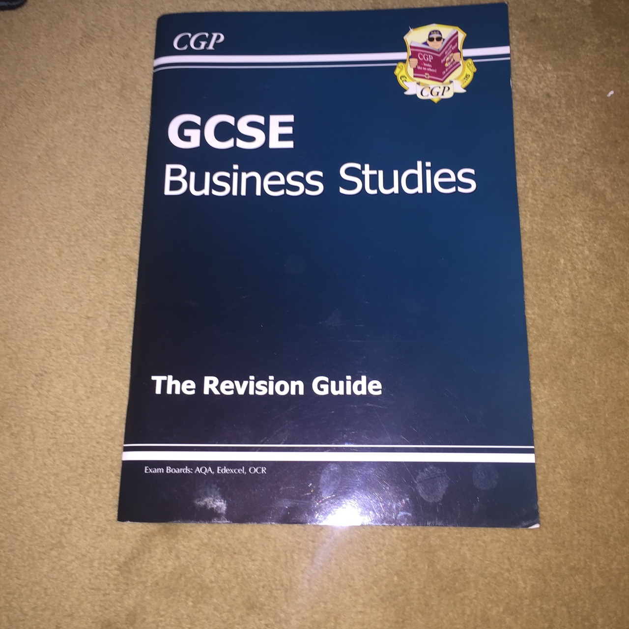 Gcse revision guide for business studies, with just    - Depop