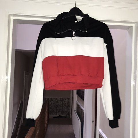 ba49cef603 @emmabeadle. 6 months ago. Hull, United Kingdom. SHEIN cropped half zip, size  M but would best ...