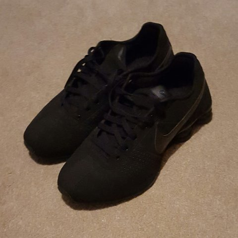 huge discount b2a4b 16880  dtg3008. 3 years ago. Sunderland, United Kingdom. Nike Shox black suede