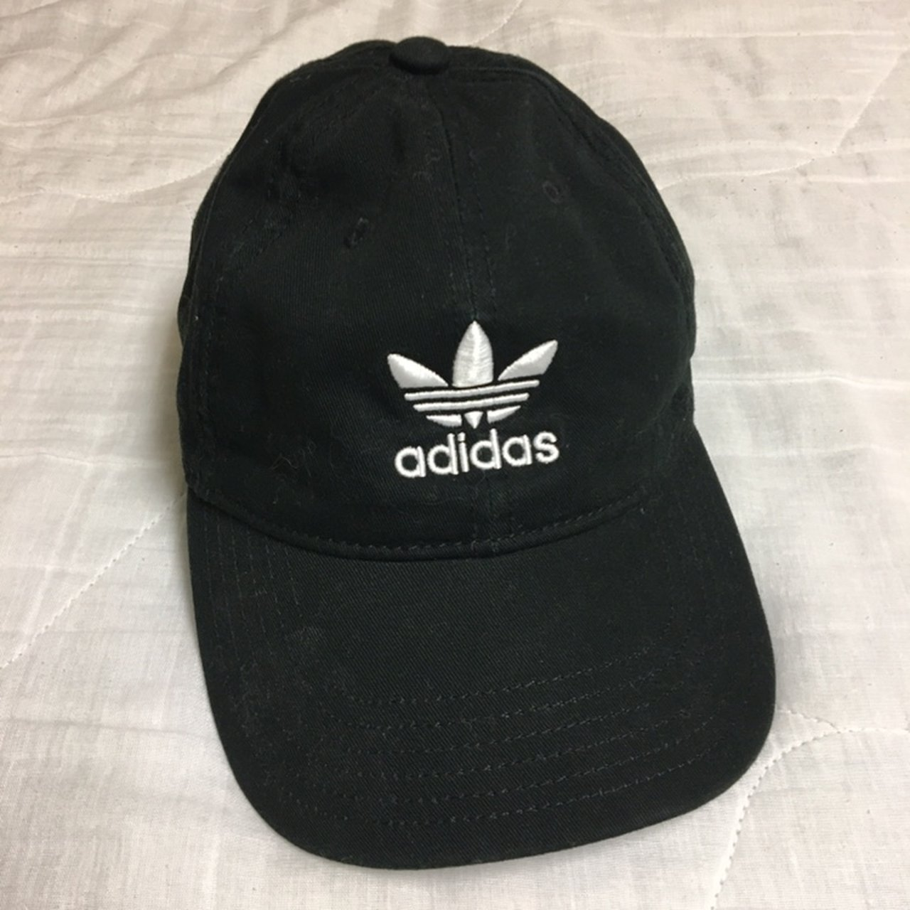 adidas hat - one size fits all adidas hat. worn once and i - Depop 1eb5fa5c9ee
